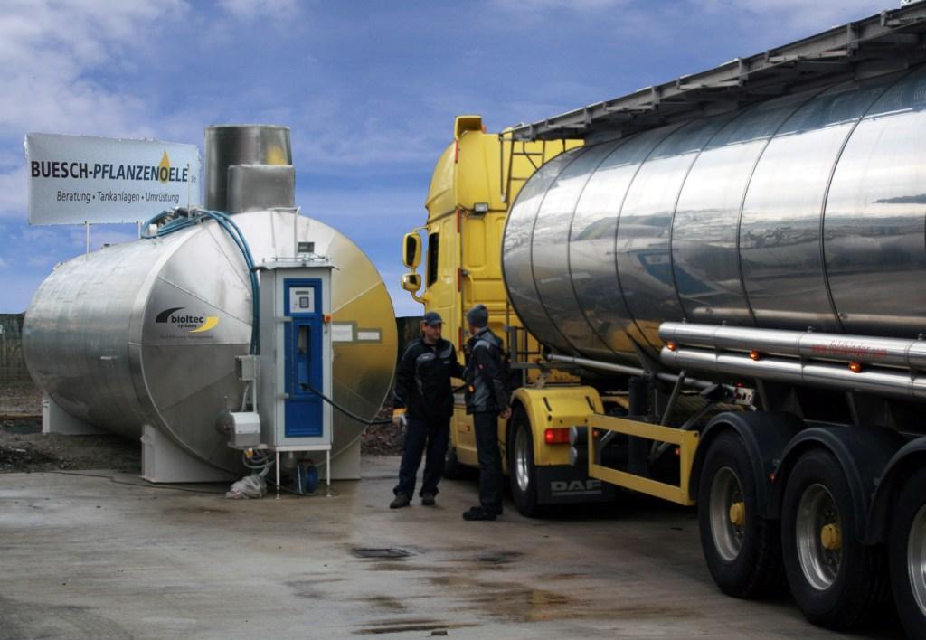 Pflanzenöl Tankstelle bioltec