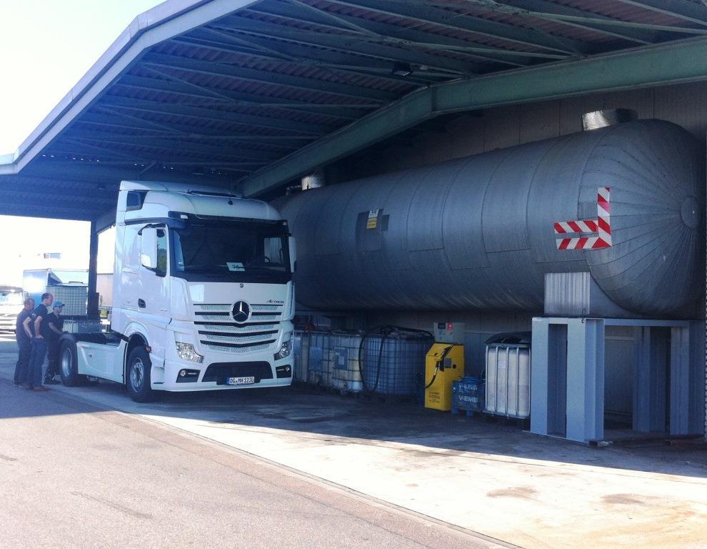 Tankstelle pflanzenöl offenburg