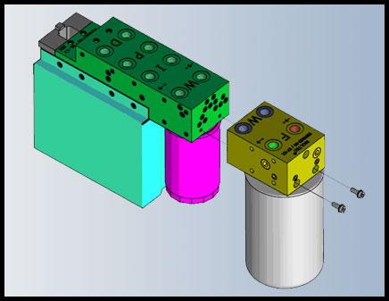 Hydraulik Block bioltec