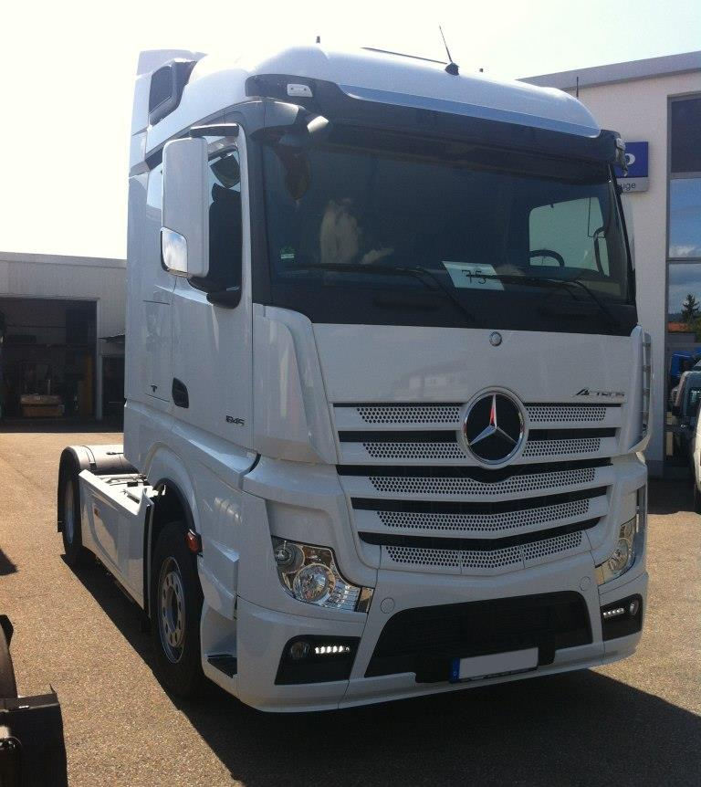 Mercedes Actros MP4 Euro 6
